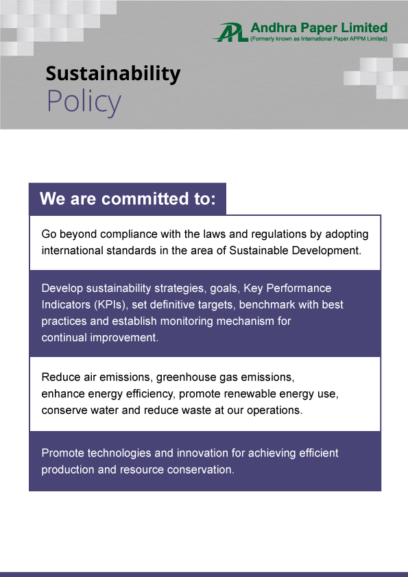 Sustainablity Policy