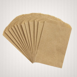 Andhra Ribbed/Plain Kraft Natural Shade